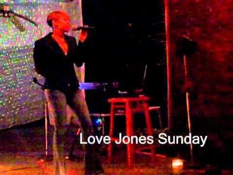 Rudy White performing at Love Jones Sundays