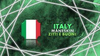 MÅNESKIN - ZITTI E BUONI   1 HOUR LOOP   ITALY   EUROVISION 2021