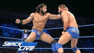 HINDI - Bobby Roode vs. Jinder Mahal - US Championship Tournament Final: SmackDown LIVE, 16 Jan 2018