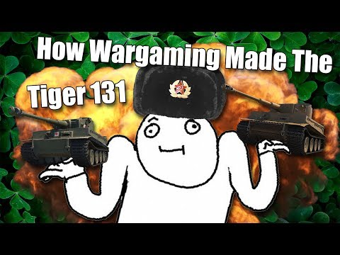 World of Tanks || The Making Of Tiger 131