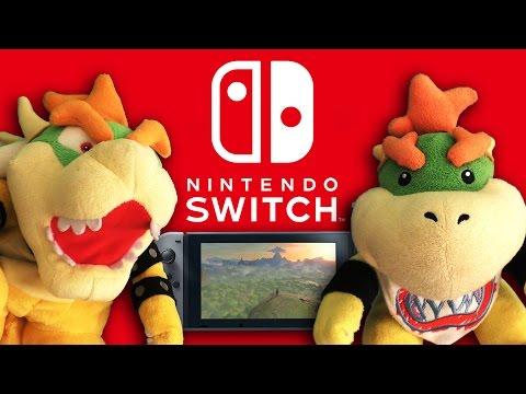 Bowser Junior's Nintendo Switch