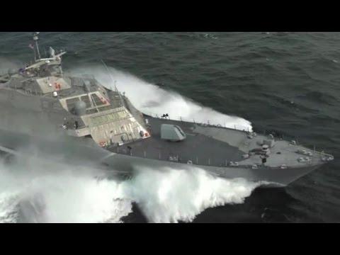 USS Milwaukee tested at high speeds
