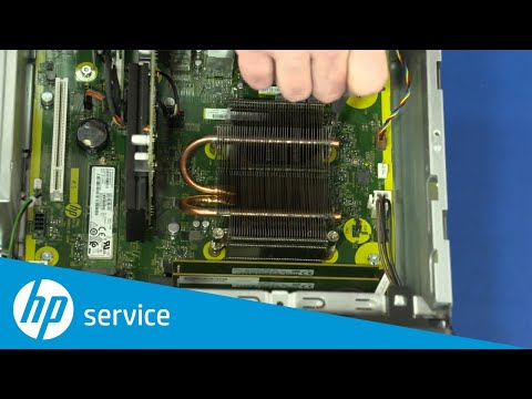 How to Replace the Heat Sink | HP 268 Pro G1 MT | HP