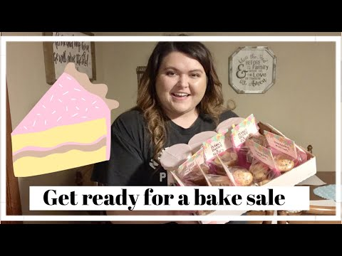 PREPARING FOR A BAKE SALE/HOW I PACKAGE FOOD FOR A BAKE SALE