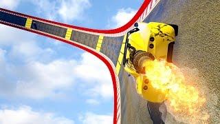 ROCKET CAR WALLRIDE! - GTA 5 Funny Moments #672