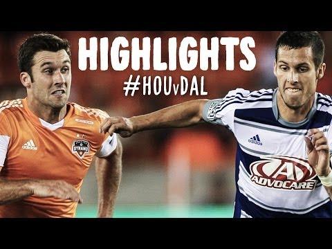 HIGHLIGHTS: Houston Dynamo vs FC Dallas   April 5, 2014