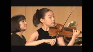 Haydn Violin Concerto No.1 - 이윤서, 이화경향콩쿠르 (LEE YOON SEO, 10yrs old)