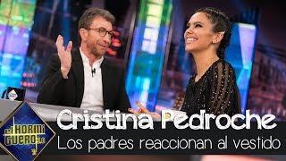 Los padres de Cristina Pedroche reaccionan al ver el vestido de las Campanadas - El Hormiguero 3.0
