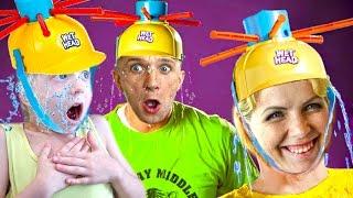 Челлендж мокрая голова Extreme Wet Head Challenge кто уйдет весь мокрый Веселое видео для всей семьи