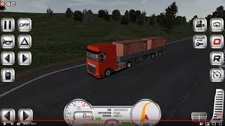 Euro Truck Evolution Simulator - Red Truck Driver Simulation - Android Gameplay FHD #2