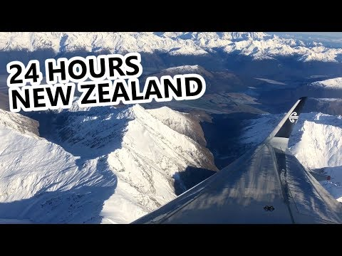 24 Hour Travel Day to New Zealand