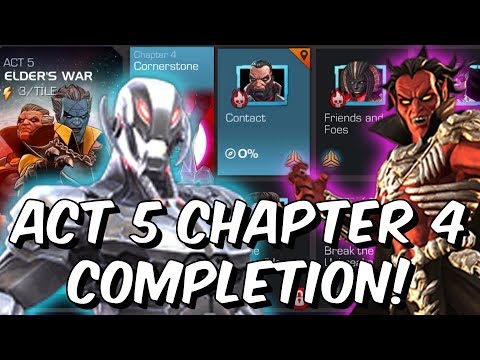 Free To Play Act 5 Chapter 4 Completion Run! - Marvel Contest of Champions 2019