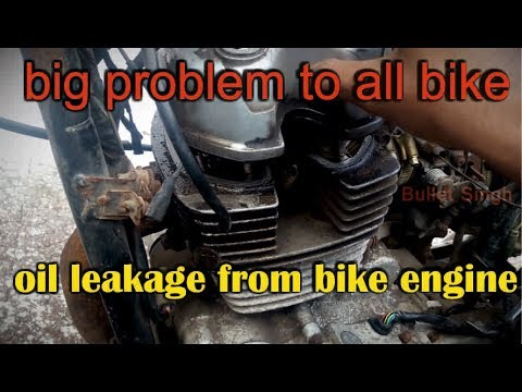 motorcycle and scooter oil leakage problem solutions - pulsar 180 old model