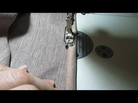 Как подшить портьеры в домашних условиях