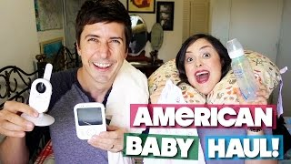 AMERICAN BABY HAUL!!! WHAT WE BOUGHT IN THE U.S.!