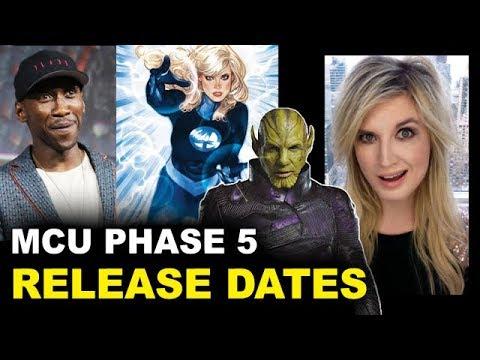 MCU Phase 5 - Blade, Fantastic Four, Secret Invasion Release Dates