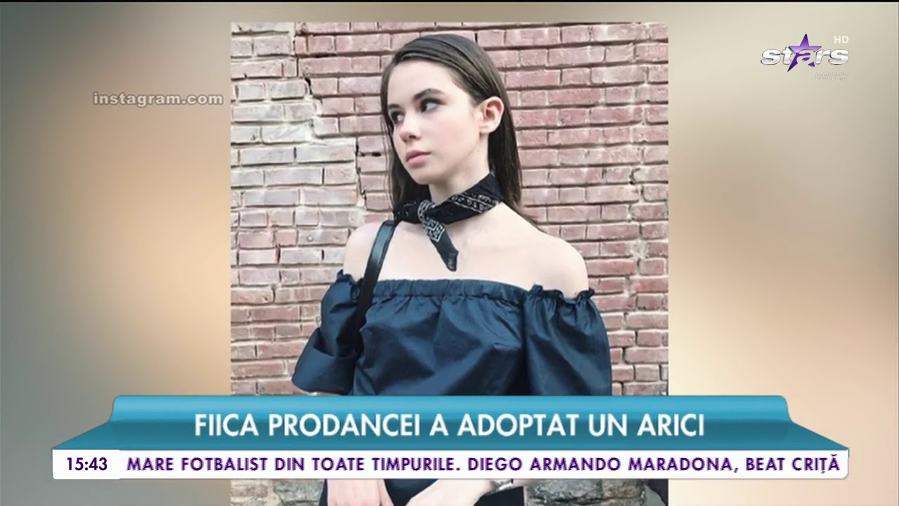 Anamaria Prodan Instagram anamaria prodan şi-a mărit familia cu un nou membru! fiica impresarei,  rebecca, a adoptat un arici