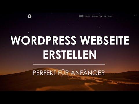 WordPress Tutorial 2017 | WordPress Website erstellen (deutsch/german)