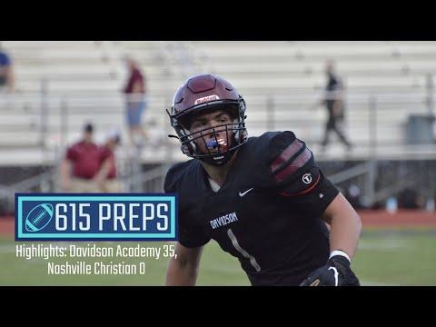 615 Preps Highlights: Davidson Academy 35, Nashville Christian 0