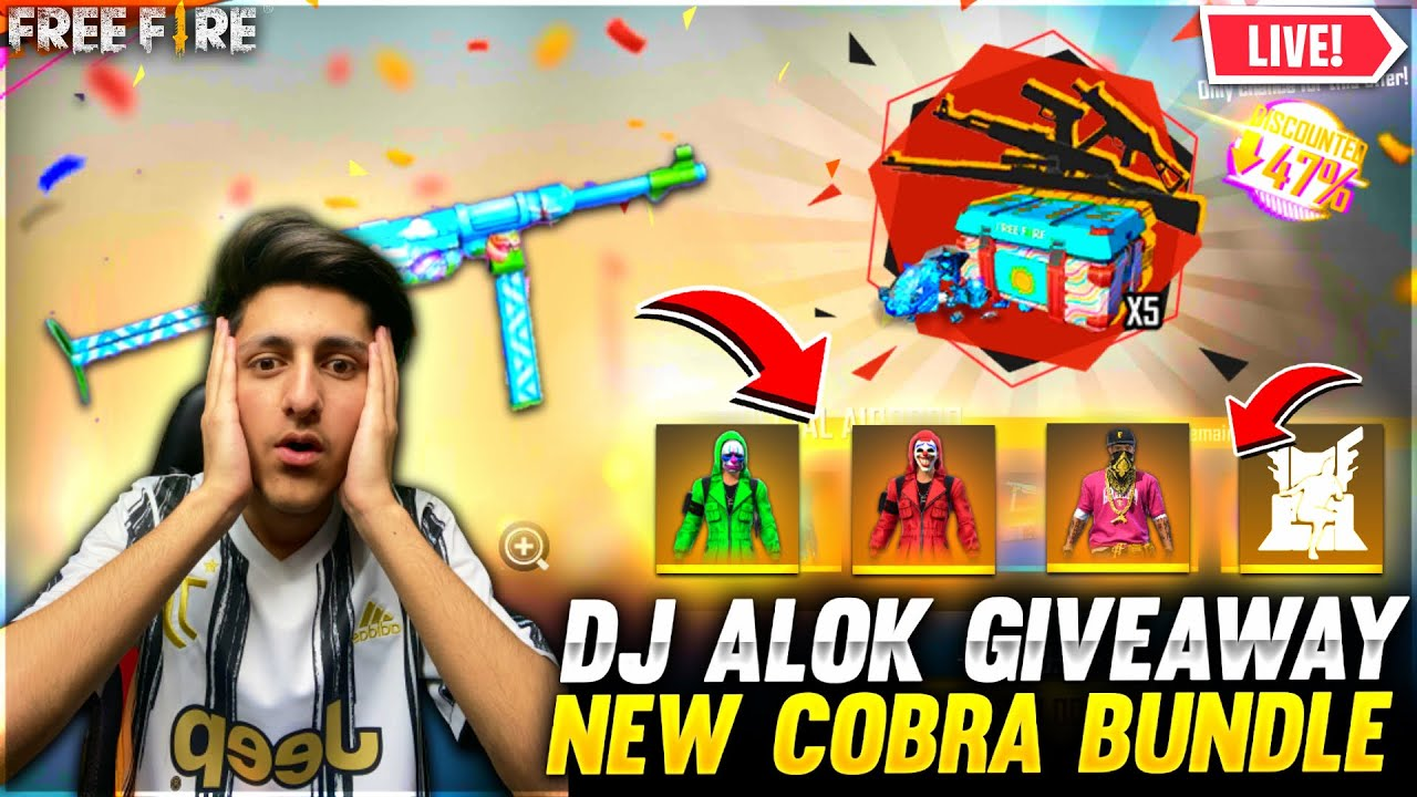 Free Fire Live New Event Cobra Bundle Giveaway & Factory Challenge - Garena Free Fire