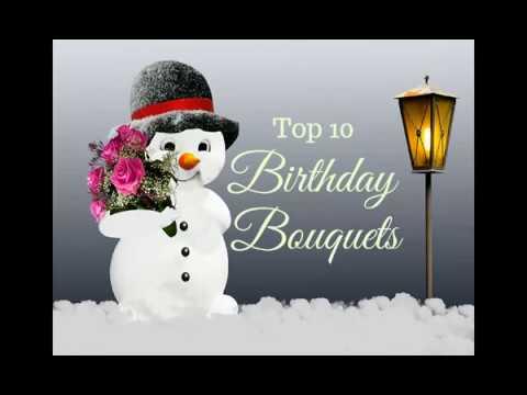 Top 10 Birthday bouquets   Dubai Florist