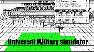 Universal Military Simulator, Atari ST. Just One Look.