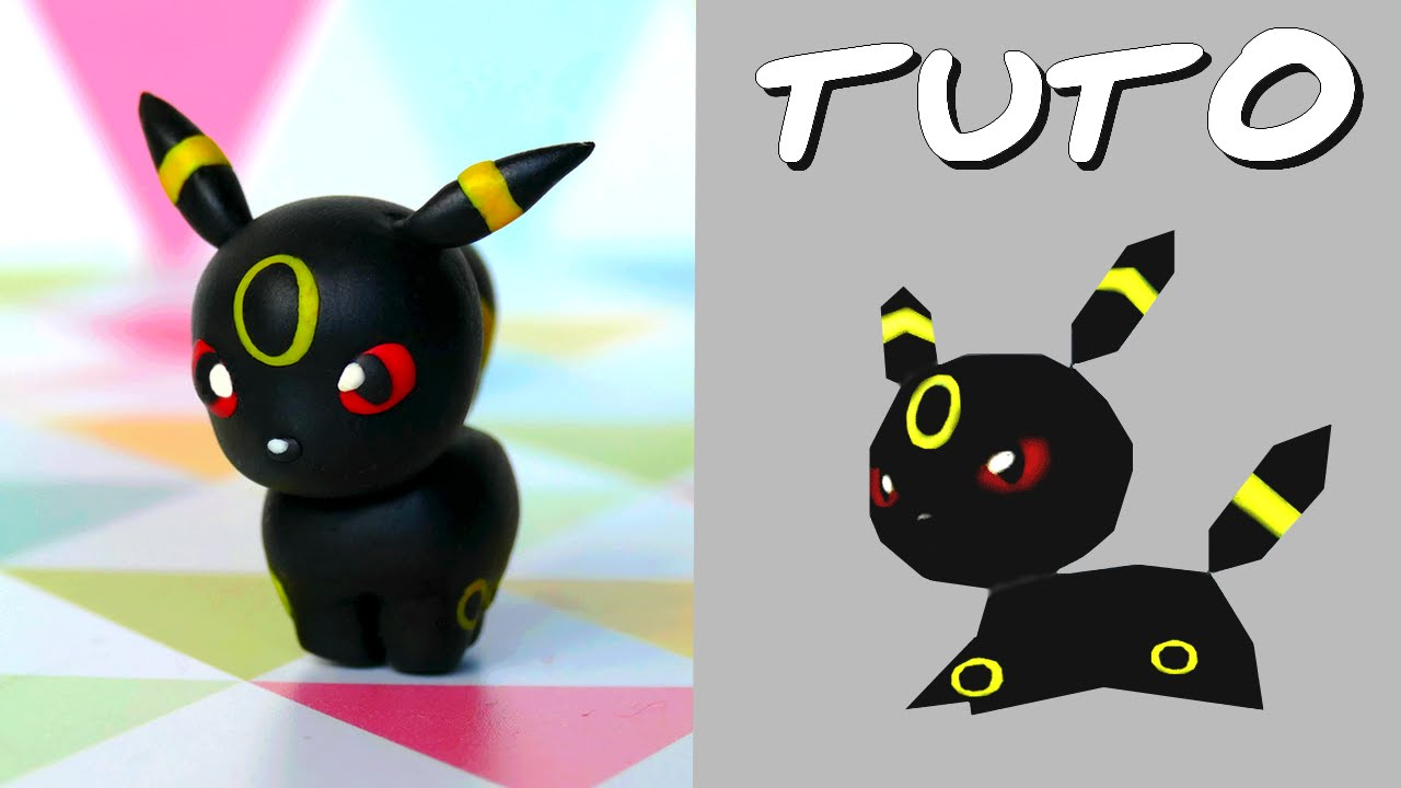 Tuto fimo noctali umbreon de pok mon rumble world - Pokemon noctali ...