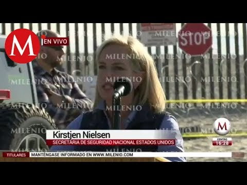 Conferencia de Kirstjen Nielsen sobre caravana migrante