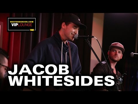 Jacob Whitesides Performs Live In The WesternUnion.com VIP Lounge