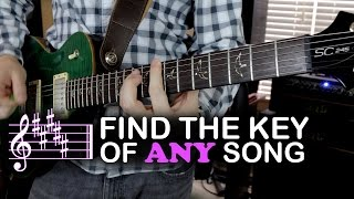 Find the Key of Any Song