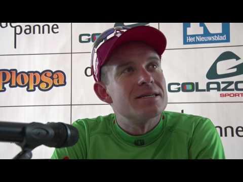 Alexander Kristoff - post-race interview - 2nd stage - 2 Daagse De Panne - Koksijde 2017