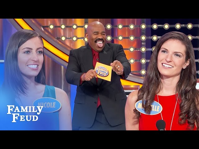Steve Harvey does a striptease! Check out his stripper name! | Family Feud
