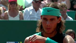 Sleeveless Rafa Nadal! Best shots from early in his career