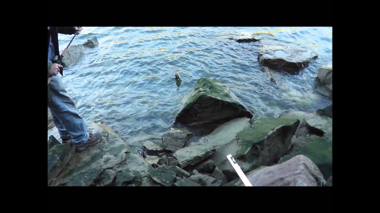 Fishing the niagara river for smallmouth bass youtube for Niagara river fishing report