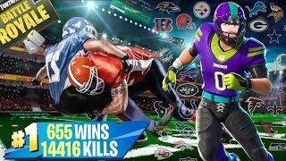 🔴FORTNITE Lv.100 | SKIN NFL! NUOVO STILE AGGIUNTO! (JETS) | CODICE: XIUDERONE