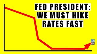 Fed Admits Increasing Interest Rates Crashes Stock Market 100% GUARANTEED! But They Must!