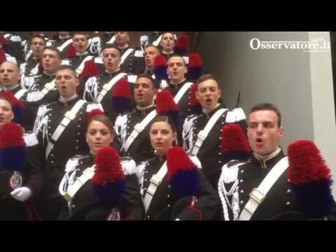 Carabinieri 2017, il giorno degli alamari