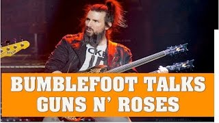 guns n roses news bumblefoot talks joining gnr axl s nickname for him