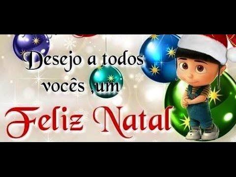 Mensagem De Feliz Natal E Ano Novo Para Whatsapp E Facebook Com Voz Feminina
