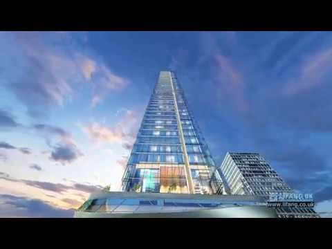 Sky Tower - CGI Animation - Lifang UK