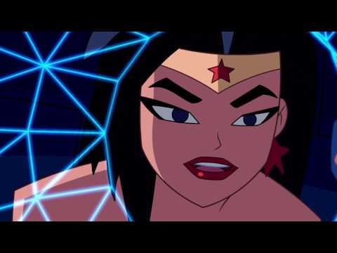 "Justice League Action - ""Inside Job"" clip 2"