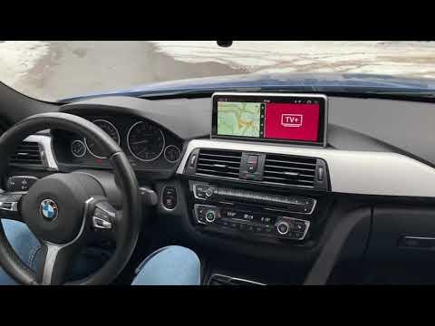 BMW F30 - доп мультимедиа на увеличенный монитор