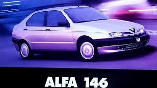 Alfa romeo 146 ts.  test auto al día (1997)
