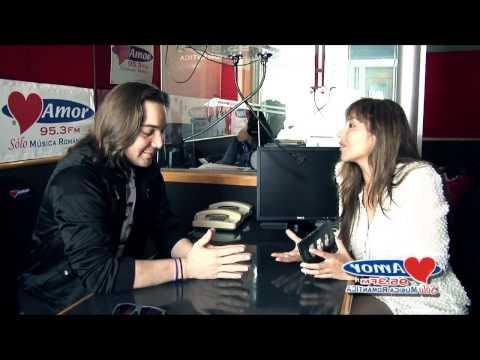 Entrevista a Xeronimo con Mariela Roldán - Amor 95 3 Sólo música romántica.