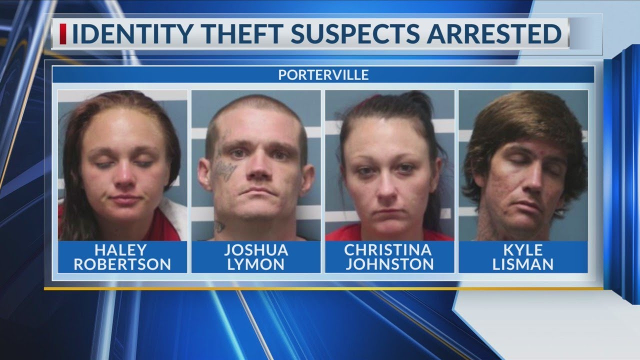Identity theft suspects arrested in Porterville