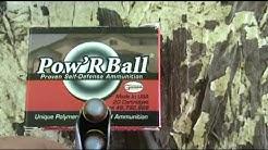Pow'R Ball 9mm ammo test shot through Kahr PM9