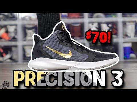 Nike Precision 3 $70 Basketball Shoe First Impressions!