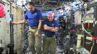 Space Station Crew Talks About Life and Work on ISS