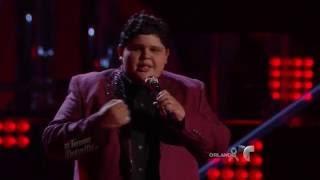 Christopher es puro sentimiento en el escenario  | La Voz Kids 2016