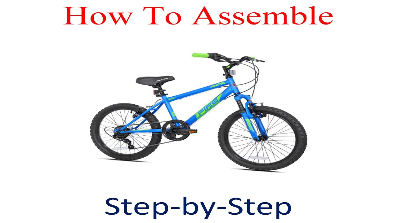 Bca 20 Inch Crossfire Boy S Bike Blue Youtube
